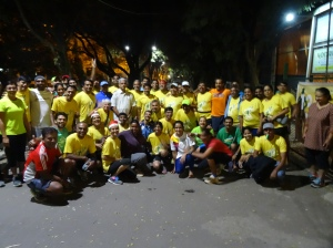 Bengaluru Runners with Dr. H. Sudarshan